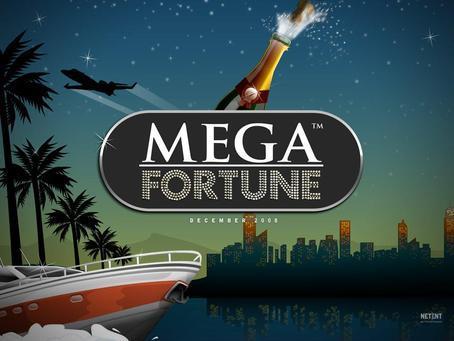 Vi hälsar Mega Fortune välkommen till Casumo!