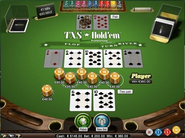 Best texas holdem casinos