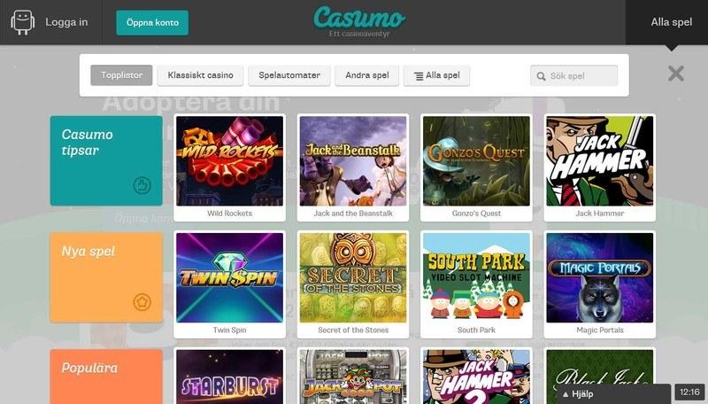 casumo-casino-lobby