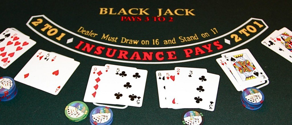 Blackjack bord