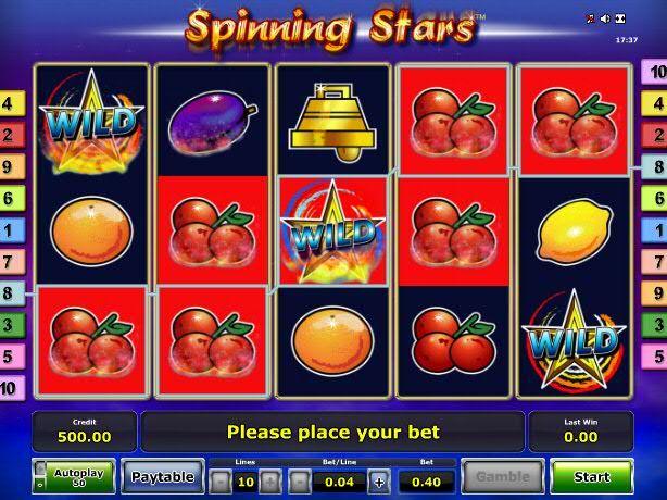 Spinning Stars – Greentube