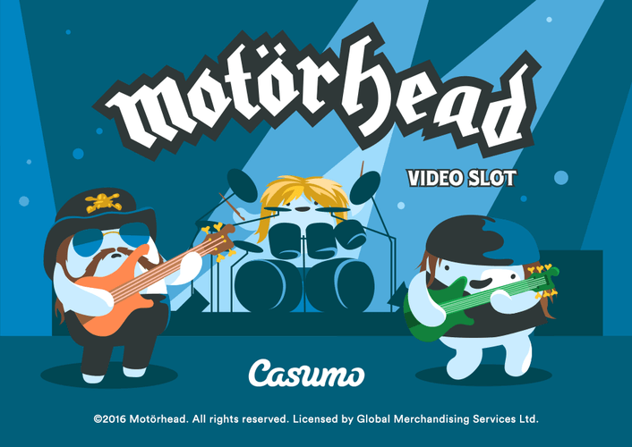 Spela NetEnts nya videoslot Motörhead!