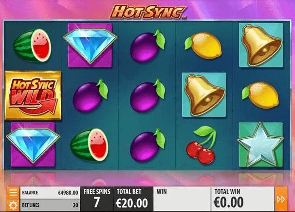 Hot Sync slot recension