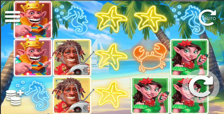 Sam on the Beach slot recension