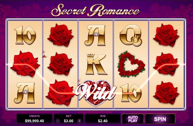 Secret Romance slot recension