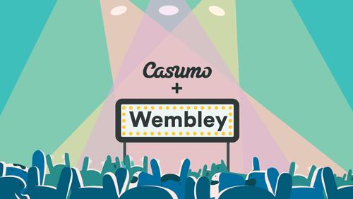 Casumo visas live på Wembley!
