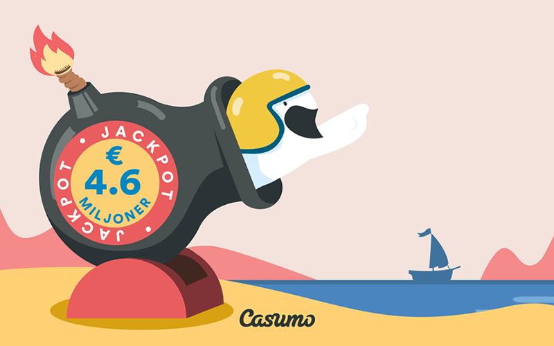 Två Mega jackpotvinnare på Casumo casino inom loppet av en vecka!
