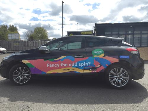 Få Free spins genom Casumos car-kampanj på twitter!