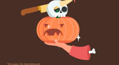 Det är dags för halloween – även på Casumo!