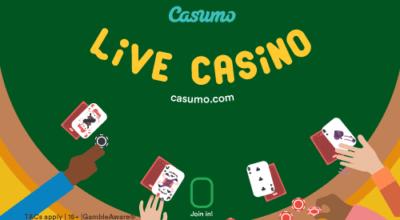 Casumo bästa mobilcasinot 2018!