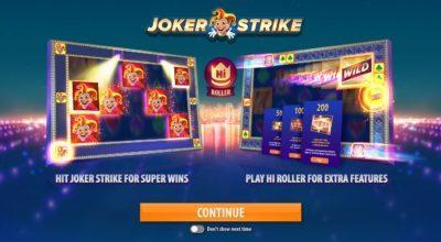 Quickspins Joker Strike exklusivt på Casumo Casino!