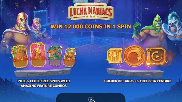 Lucha Maniacs Slot Online