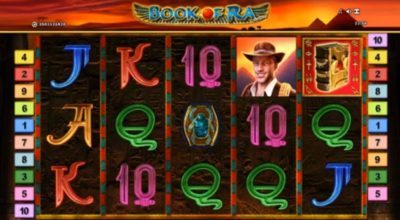 Recension av Book of Ra Deluxe slot