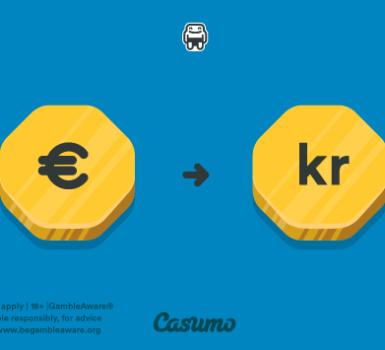 Casumo valuta
